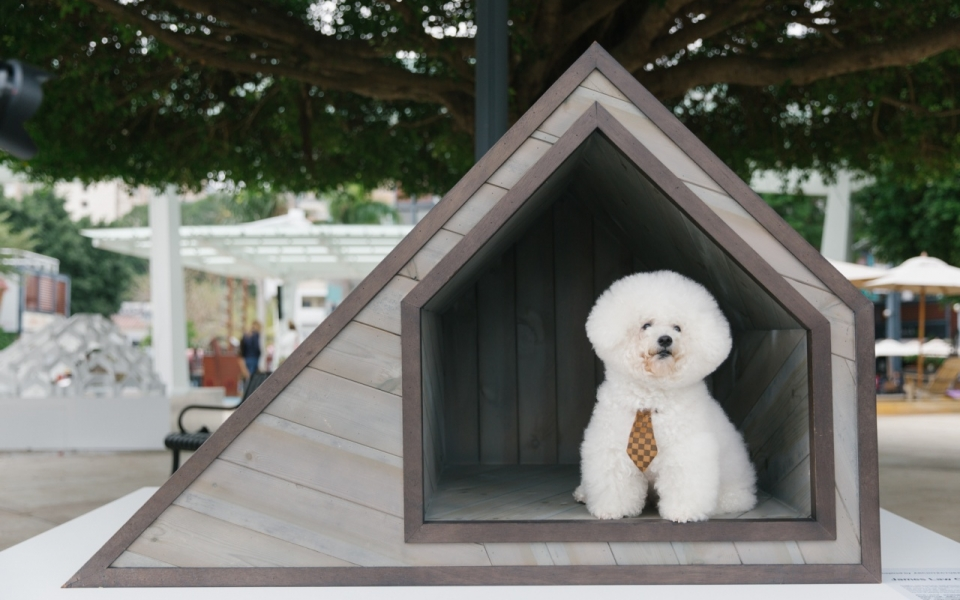 James Law Cybertecture designs dog house for Architecture for Dogs & Link REIT
