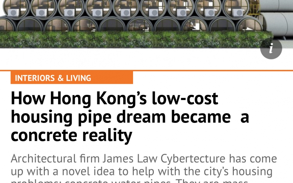 How Hong Kong's low-cost housing pipe dream became reality