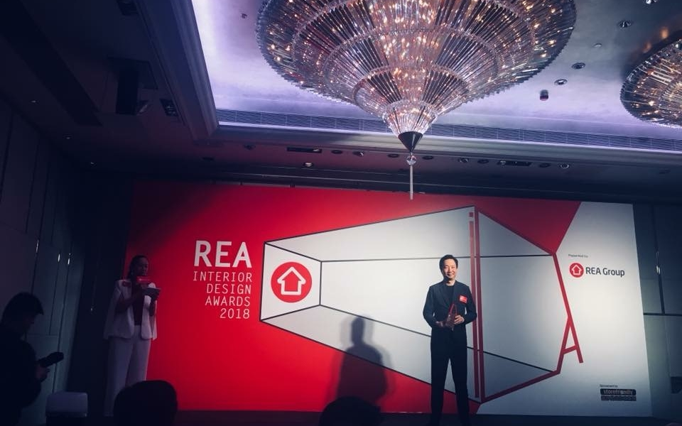 James Law hands out 2018 REA Awards for Interior Design in Hong Kong