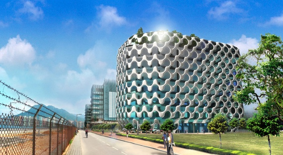 A 30,000 Sq.ft Building Design For Science And Technology Companies As Part  Of 3rd Phase Of Hong Kong Science U0026 Technology Park, Hong Kong Featuring ...