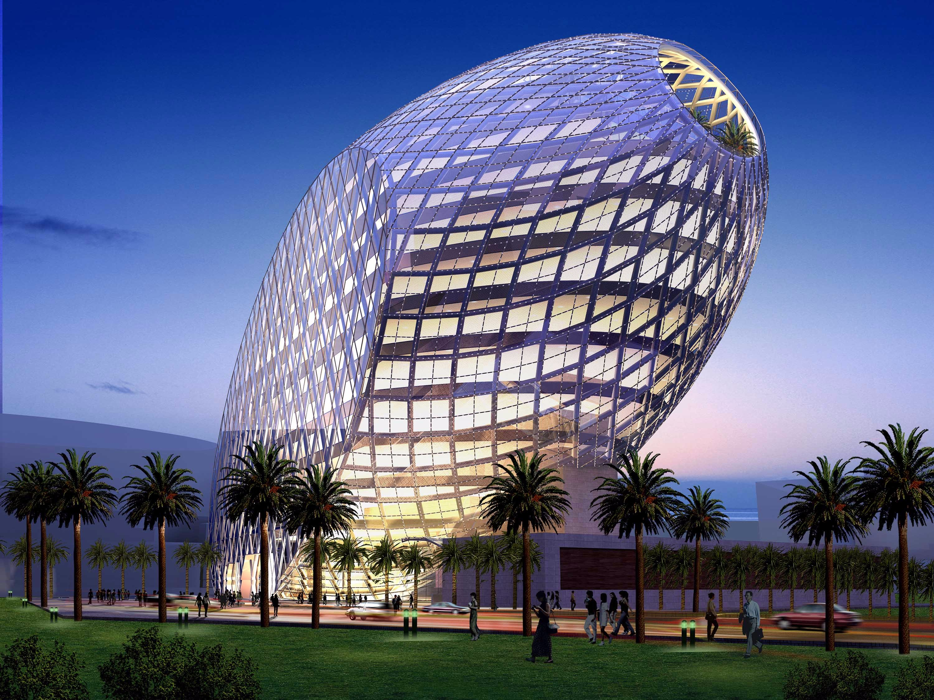 James law cybertecture for High tech arquitectura